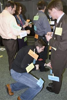 Lernen macht Spaß! Ungewöhnliche Lehr- und Lernmethoden sind typisch für unsere Seminare.
